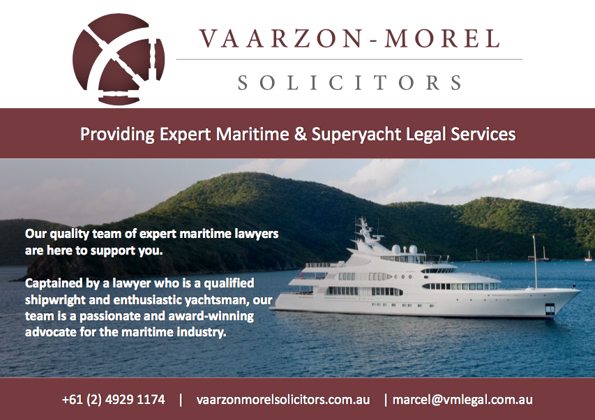 Legal Services for Superyachts